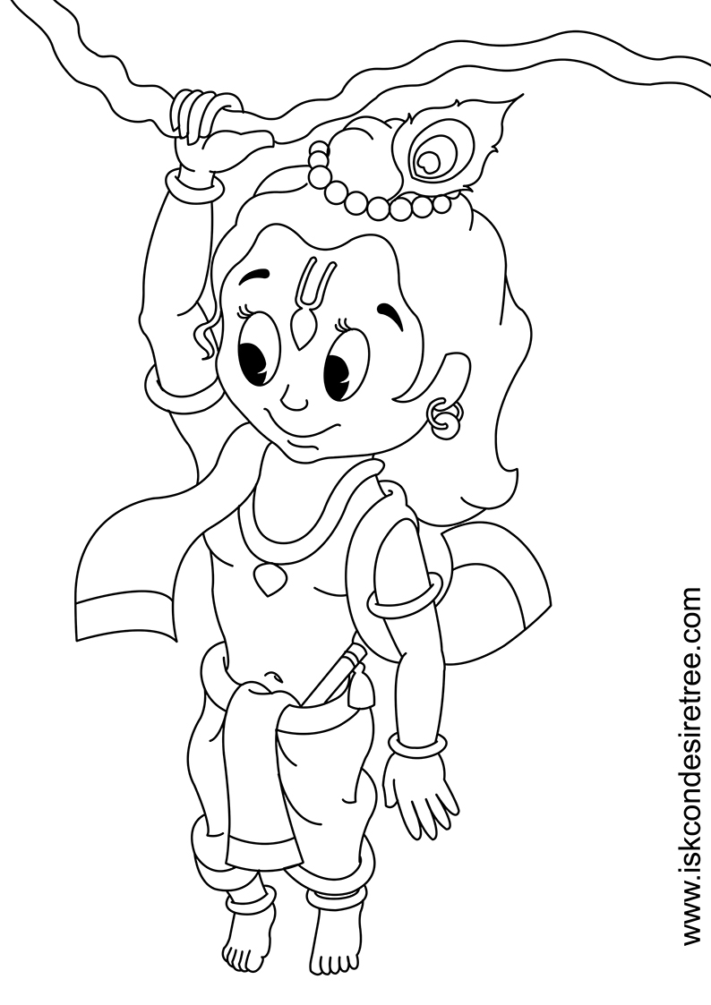 10 best flute coloring pages your toddler will love balagokulamimagesla krishna1 lord baby krishna coloring - Baby Krishna Images Coloring Pages